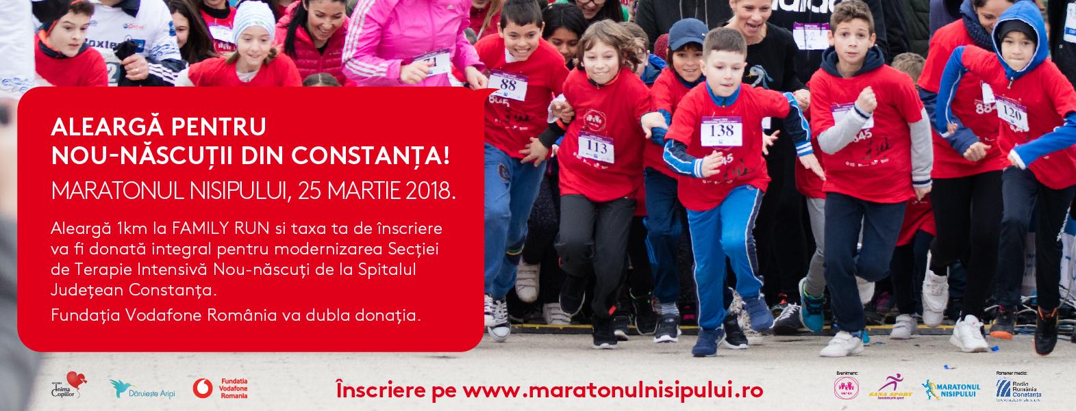 Maratonul Nisipului pentru nou-nascutii din Constanta